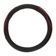 Cubrevolante Universal Color Negro/rojo Diametro 38