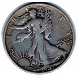 Moneda Del Mundo Usa Half Dollar 1941 Plata 0.900 D17