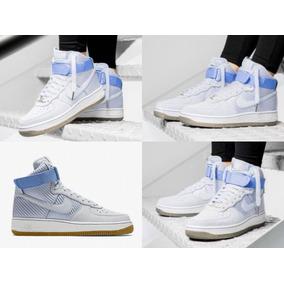 Nike Air Force 1 High Woven Light Blue