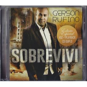Cd Duplo Gerson Rufino - Sobrevivi (cd+pb)