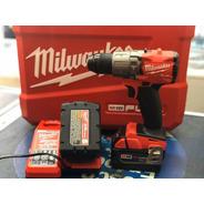 Taladro Atornillador A Bateria 18v Milwaukee 2804 13mm Fuel
