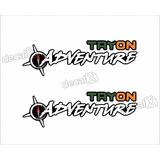 Emblema Adesivo Fiat Strada Adventure Tryon Par Strda32