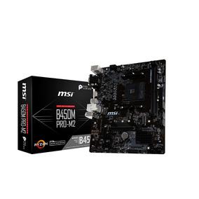 Mother Msi B450m Pro-m2 Atx Am4 Ryzen Ddr4 M.2 Usb 3.1 B450