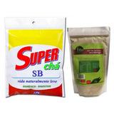 Super Chá Sb Seca Barriga 120g + Mix Farinha Seca Barriga