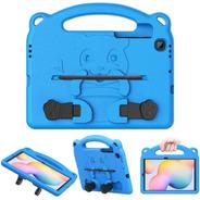 Funda Moko Para Niños Samsung Galaxy Tab S6 Lite Azul