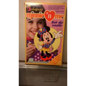 Set De Vestir Minnie +3 Años Colorforms- Lupetoys