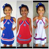 Vestido Infantil Do Bahia( Kit C/ 3 )