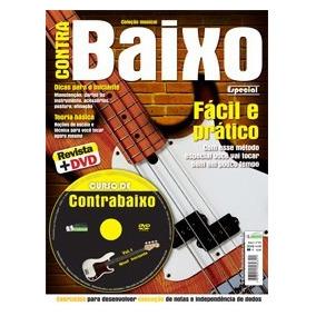 Metodo Contra Baixo Primeira Edição Dvd + Revista