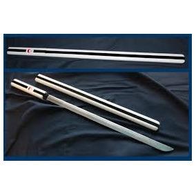 Espada Katana Sasuke (naruto) Bainha Decorada Em Madeira