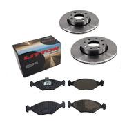 Kit Discos Y Pastillas Fiat Palio Siena 1.4 Fire Delantero