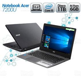 Notebook Acer 15.6 7200u Core I5/ram 6gb/disco 1tb
