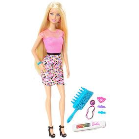 Boneca Barbie - Fashion - Barbie Com Acessórios - Cabelos Co