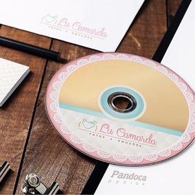 100 Cds + Personalização Impressa + Capa/encarte Papel Gloss