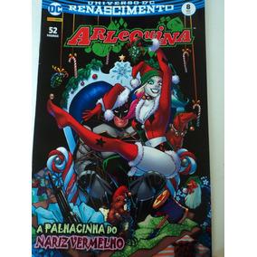 Hq-arlequina:#8:a Palhacinha Do Nariz Vermelho:dc Comics