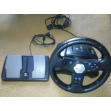 Volante Logitech Rally Vibration Wheel Playstation2 Pc
