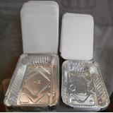 Envases De Aluminio Con Tapa De Anime # 747, # 990 Y # 420