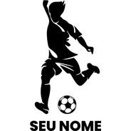 Adesivo De Parede - Futebol Personalizado Esporte Bola