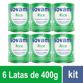 Novamil Rice Fórmula Infantil Com 6 Latas 400g