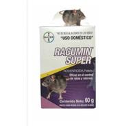 Paquete De 12pz Racumin Pellets 60g Bayer Control De Ratas