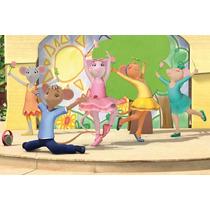 Painel Decorativo Festa Infantil Angelina Bailarina (mod3)