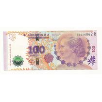 Argentina - Billete De 100 Pesos Evita - Numero Bajo