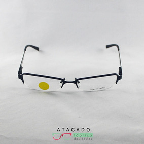 Armação Baccara Colection Jeans - Óculos Preto no Mercado Livre Brasil 115563f72c