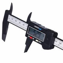 Calibrador Vernier Digital Pie De Rey Fibra D Carbono 150mm
