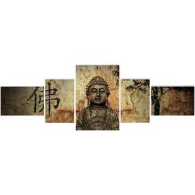 Cuadros Murales Polipticos, Zen, Buda, Etnicos, 135 X 45