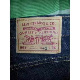 Blue Jeans Levis 569 Panameño Talla 42