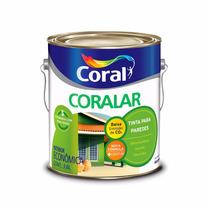Tinta Acrilica Coralar Coral - Rosa Açaí Fosco 3,6 Litros