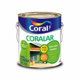 Tinta Para Parede Coral Coralar Verde Piscina Fosco 3,6 Lts