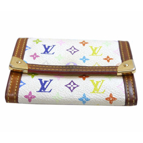Monedero Cartera Louis Vuitton 100% Original Multicolor