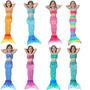 Cauda Com Biquíni Monofin Sereia Para Nadar Infantil