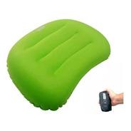 Travesseiro Inflável Pill Azteq Super Leve Camping Trilha