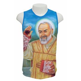 Camiseta Padre Pio - Regata