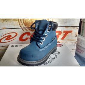 Zapato Botita De Piel Para Niño Bebe Talla 13 Nuevo
