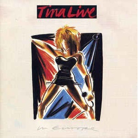 Tina Turner. Tina Live In Europe. Soul Rock Funk Cds.
