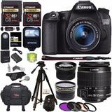 Camara Canon Eos 70d Con Kit 20 Accesorios