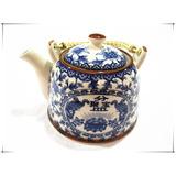 Tetera Con Infusor De Acero Inoxidable Porcelana China