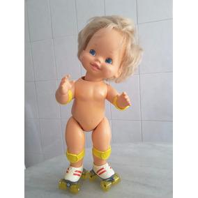 Boneca Baby Skates Anos 80 Importada