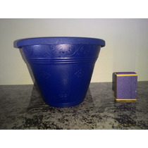 25 Vasos De Parede P Azul Esc Orquídeas Plantas Jd Vertical