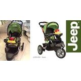 Carrinho Bebe Jeep Liberty Sport X All-terrain Laranja/azul
