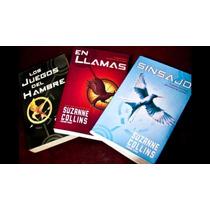 Trilogía Juegos Del Hambre Los 3 Libros, Envío Gratis