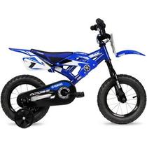 Bicicleta 12 Plg Yamaha Moto Bmx 3 A 5 Años