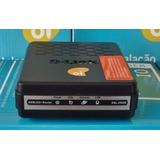 Modem D-link Adsl2+ Dsl-2500e Para Oi Velox Kit Instalacao