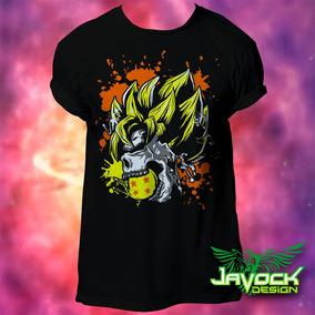 Playera Dragon Ball Super Goku Calavera Skull e109c70ea3b4f