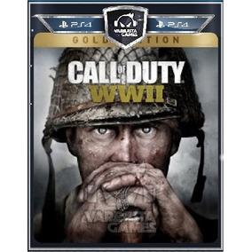 Call Of Duty Ww2 Gold Edition Ps4 Br - Psn 1 - Env Dgt Já