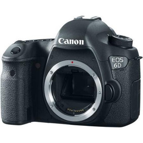 Camera Digital Canon Eos 6d Somente Corpo Em Sp 12x
