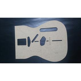 Gabarito Telecaster Fender Apenas Frente Do Corpo