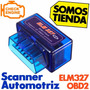 Scanner Elm327 Automotriz Mini Interfaz Bluetooth Obdii Obd2